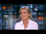 Жан Дюжарден и Николь Гарсиа в гостях у канала TF1